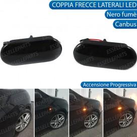 Placchette Dinamiche Nere fumè Laterali per frecce specifiche per VW TRASPORTER 75