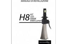 KIT FULL LED H8 Fendinebbia BMW SERIE 2 F46