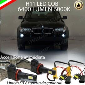 Kit Full LED H11 Fendinebbia 6400 lumen BMW X3 E83