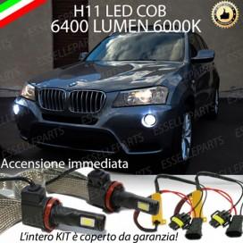 Kit Full LED H11 Fendinebbia 6400 lumen BMW X3 F25