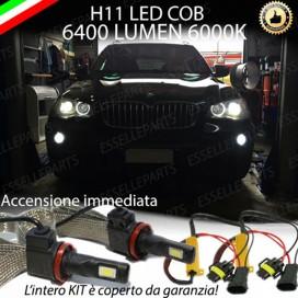 Kit Full LED H11 Fendinebbia 6400 lumen BMW X5 E70