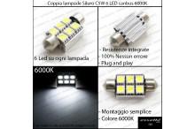 Luci targa 6 LED Canbus