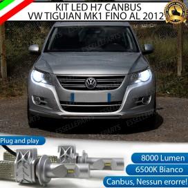 KitFull LED H7 8000 LUMEN AnabbagliantiVWTIGUAN I