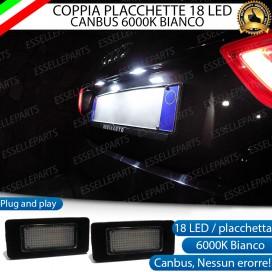 Placchette luci targa a LED SKODA SUPERB MK2