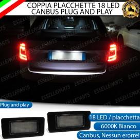 Placchette luci targa a LED SKODA OCTAVIA MK3