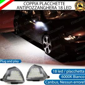 KIT PLACCHETTE LED CORTESIA SPECCHIETTI 6000K BIANCO CANBUS VW GOLF 5 V