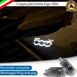 placchette logo antipozzanghera luci di cortesia led con logo 500X