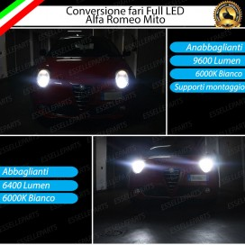 Conversione Fari Full LED con kit led 360