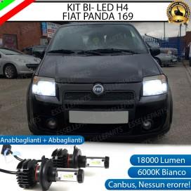 Kit Full LED H4 18000 LUMEN Anabbaglianti/Abbaglianti FIAT PANDA II