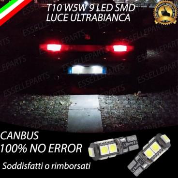 Luci targa 9 LED Canbus GTV