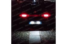 Luci targa 5 LED Canbus GTV