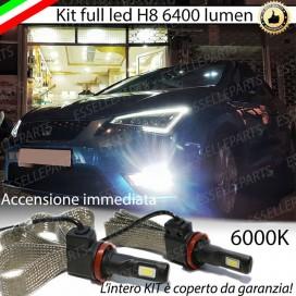 KitFull LED H8 6400 LUMEN FendinebbiaSEATLEON 5F