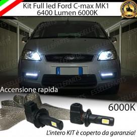 KitFull LED H1 Abbaglianti 6400 LUMENFORDC-MAX I
