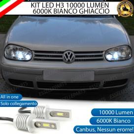 Kit Full LED H3 10000 Lumen Fendinebbia VW GOLF 4