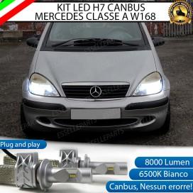 KitFull LED H7 8000 LUMEN AnabbagliantiMERCEDES CLASSE A (W168)
