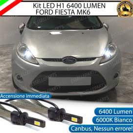 KitFull LED Abbaglianti H1 6400 LUMENFORDFIESTA VI