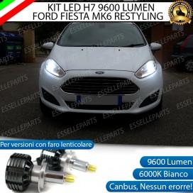 Kit Full LED H7 9600 LUMEN Anabbaglianti Ford Fiesta (MK6) RESTYLING