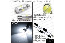 Luci posizione 6 LED Canbus FORD KA II