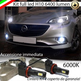 KitFull LEDFendinebbia H10 6400 LUMEN OPELCORSA E