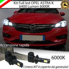 KitFull LED H1 Abbaglianti 6400 LUMENOPELASTRA K