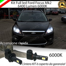 Kit Full LED H7 6400 LUMEN Anabbaglianti FORD FOCUS II
