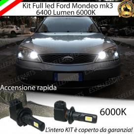 KitFull LED Abbaglianti H1 6400 LUMENFORDMONDEO III