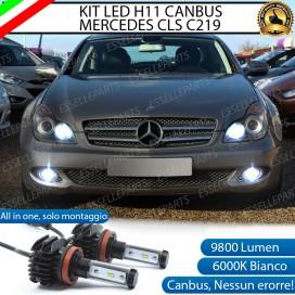 Kit Full LED H11 Fendinebbia 9800 LUMEN MERCEDES CLS W219