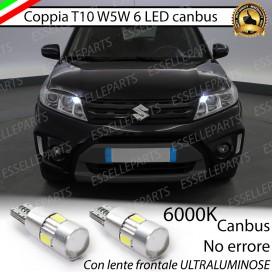 Luci posizione T10 W5W 6 LED Canbus Suzuki Vitara