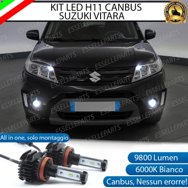 Kit Full LED H11 coppia lampade FENDINEBBIA SUZUKI VITARA III