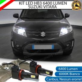 KitFull LED HB3 6400 LUMEN AbbagliantiSUZUKIVITARA