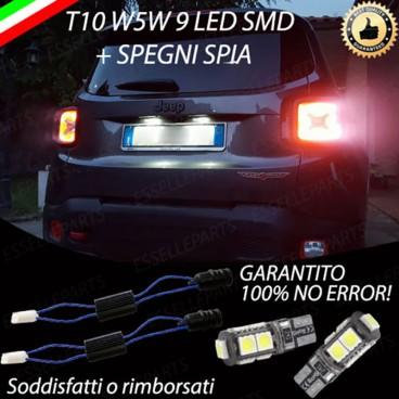 Luci Targa Led Canbus Jeep Renegade 6000k Luce Bianca No Error