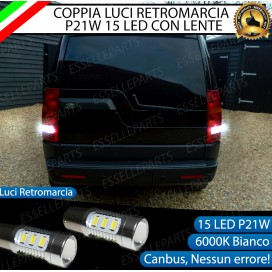 Luci Retromarcia 15 LED Land Rover Discovery III CON LENTE FRONTALE