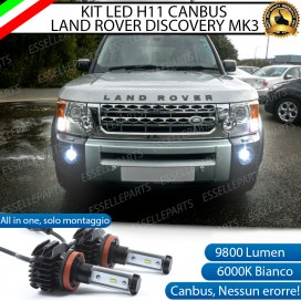 Kit Full LED Fendinebbia H11 9800 LUMEN per LAND ROVER DISCOVERY III