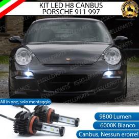 Kit Full LED H8 Fendinebbia 9800 LUMEN Porsche 911 (997)