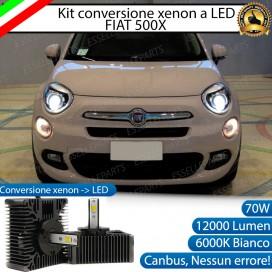 KIT LED D5S CONVERSIONE DA BIXENO A LED 12000 LUMEN 6000K FIAT 500X