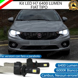 KIT FULL LED H7 Anabbaglianti FIAT TIPO