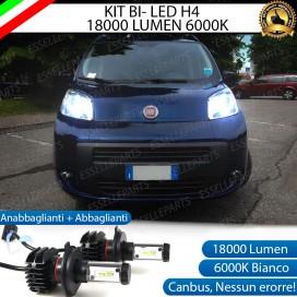 Kit Full LED H4 18000 LUMEN Anabbaglianti/Abbaglianti FIAT QUBO