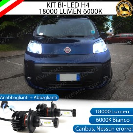 Kit Full LED H4 18000 LUMEN Anabbaglianti/Abbaglianti CITROEN NEMO