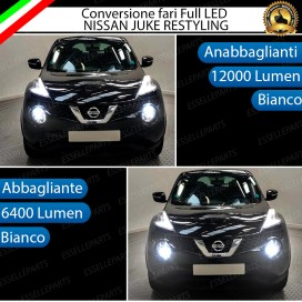 Conversione Fari Full LED 12000LM + 6400LM