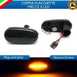 PLACCHETTE STATICHE NERE LATERALI A LED PER FRECCE SPECIFICHE PER FIAT BRAVO II