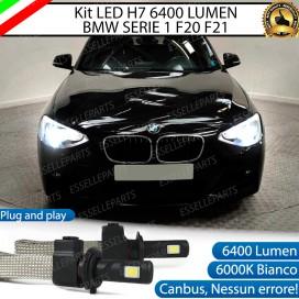 KitFull LED H7 6400 LUMEN AnabbagliantiBMWSERIE 1 F20