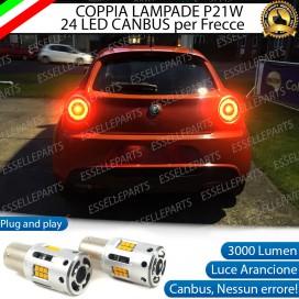 Coppia Frecce Posteriori P21W 24 LED Canbus 3.0 per ALFA ROMEO MITO