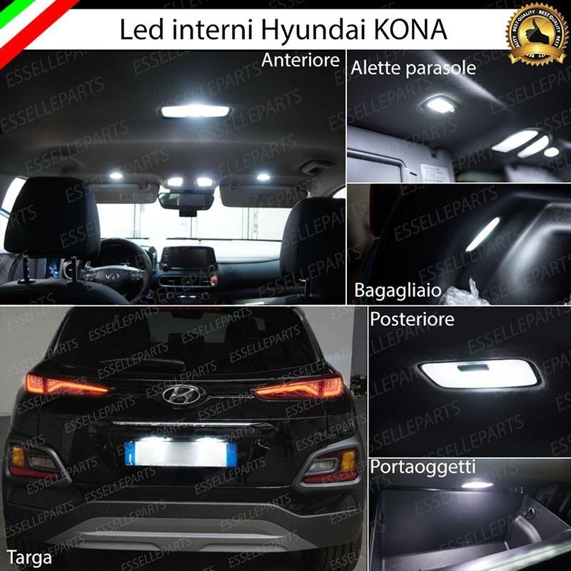 Ed Voyles Hyundai Home: Led Interni Abitacolo HYUNDAI KONA Canbus 6000K Luce Bianca