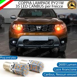 Coppia Frecce Anteriori PY21W 35 LED Canbus DACIA DUSTER II