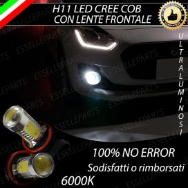 Luci Fendinebbia H11 LED 900 LUMEN SUZUKI SWIFT V