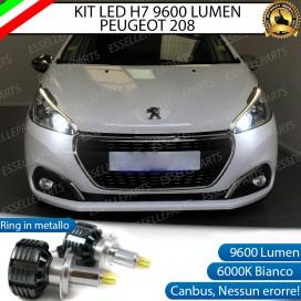 KitFull LED H7 9600 LUMEN AnabbagliantiPEUGEOT 208