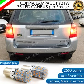 Coppia Frecce Posteriori PY21W 35 LED Canbus LAND ROVER FREELANDER II