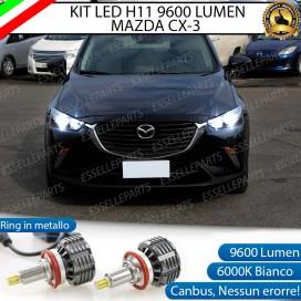 Kit LED Anabbaglianti coppia H11 9600 LUMEN MAZDA CX-3