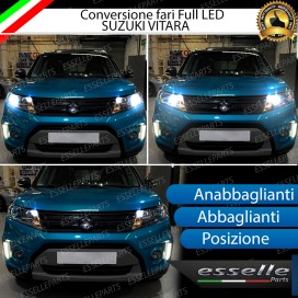 Conversione Fari Full LED 9600LM + 6400LM