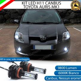 Kit Full LED H11 Fendinebbia 9800 LUMEN Toyota Auris (MK1)
